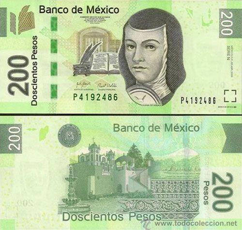 200 Pesos Mexican Banknote