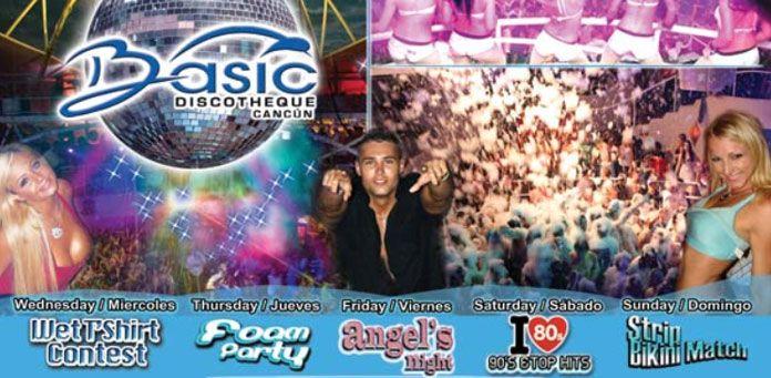 Basic and G Spot Nightclub Cancun
