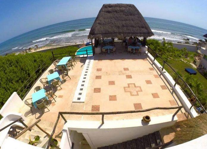 Casa Ixchel Isla Mujeres Aerial View