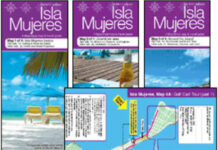 Map of Isla Mujeres