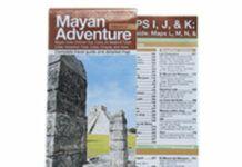 Map of Mayan Sites
