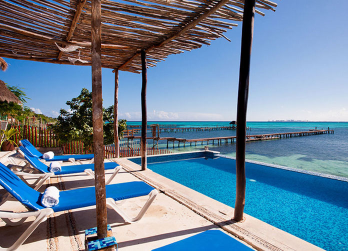 Maria's Kan Kin Hotel Isla Mujeres Pool