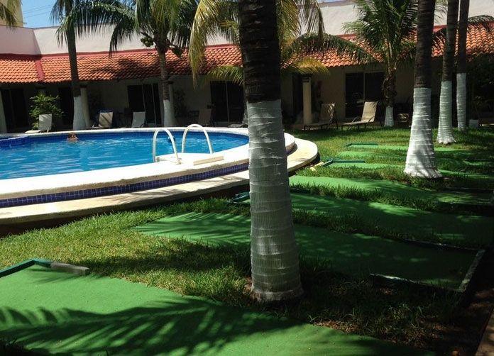Plaza Almendros Isla Mujeres Pool View