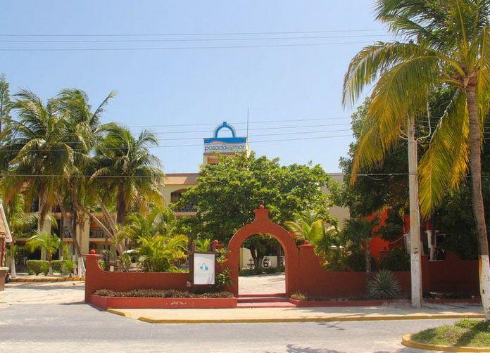 Posada del Mar Isla Mujeres Front