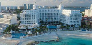 Riu Palace Las Americas Aerial View