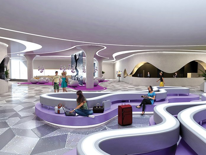 Temptation Resort Cancun Lobby