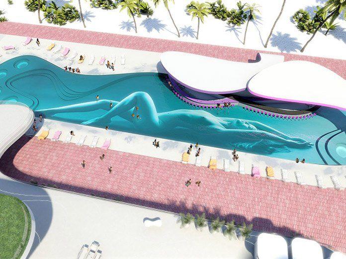 Temptation Resort Cancun Sexy Pool