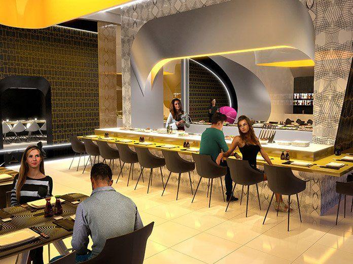 Temptation Resort Cancun Japanese Restaurant
