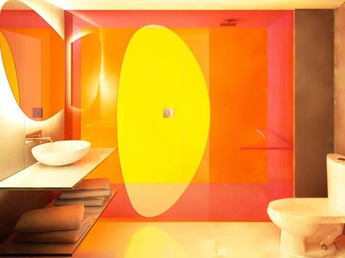 Temptation Resort Trendy Ocean View Bathroom