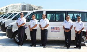 USA Transfers Vans and Staff
