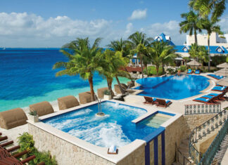 Zoetry Villas Rolandi Isla Mujeres Pools