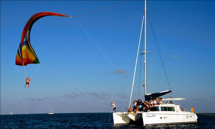 Cancun Catamarans Spinnaker
