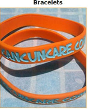 Cancuncare Merchandise: Bracelets