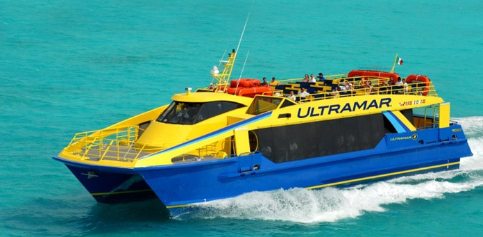Ultramar Ferry Playa Del Carmen to Cozumel
