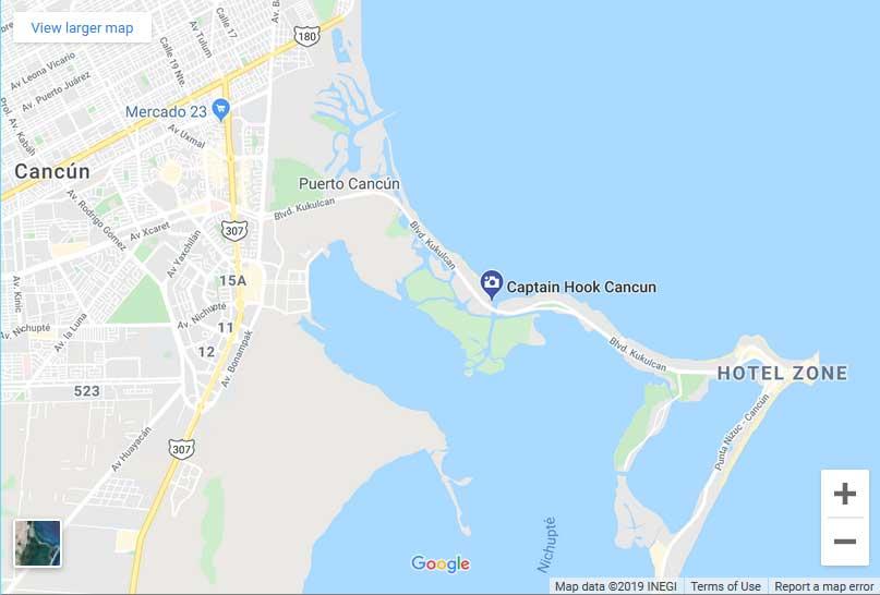 Captain Hook Cancun 1