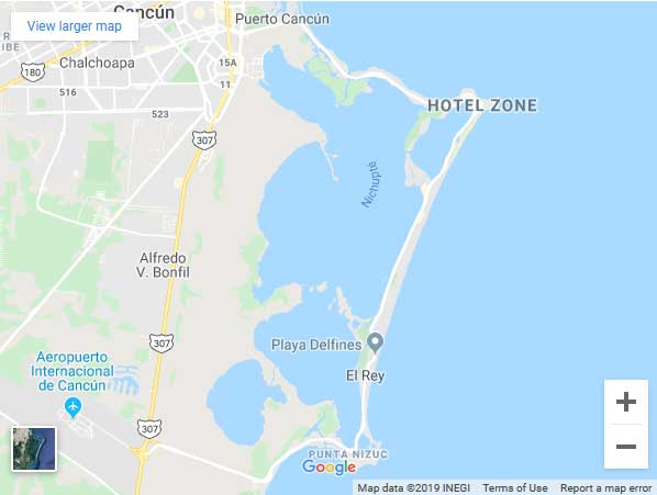 Getting Around Cancun Hotel Zone