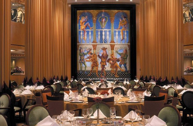 Temptation Cruise Dining Room