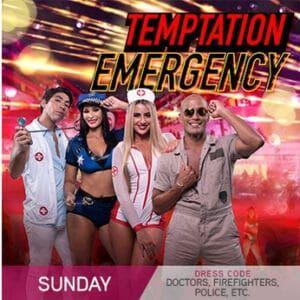 Temptation Cancun Theme Nights - Sunday