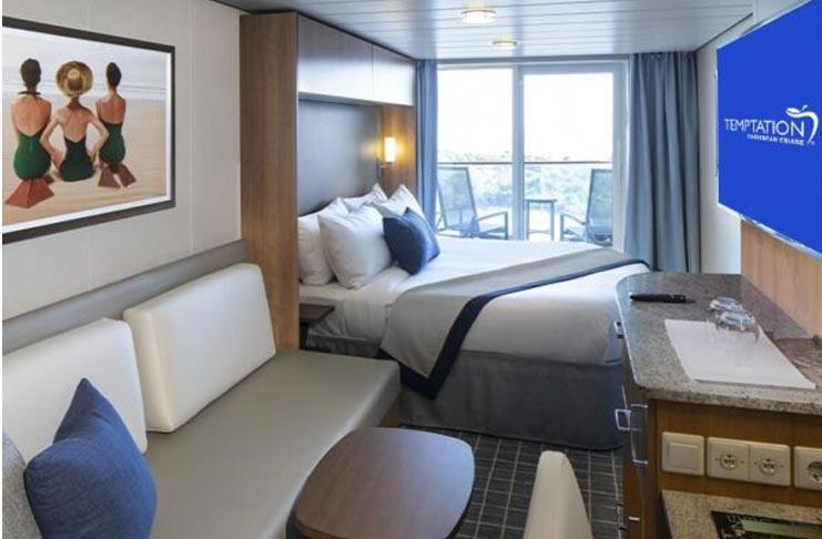 Concierge Class Stateroom Temptation Caribbean Cruise