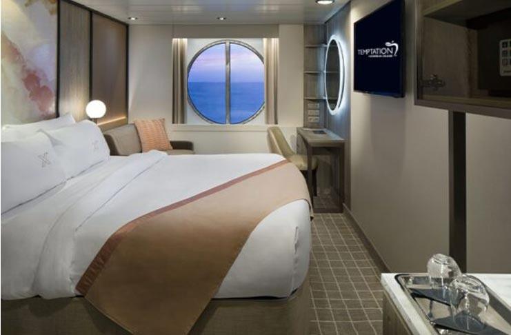 Oceanview Stateroom Temptation Caribbean Cruise