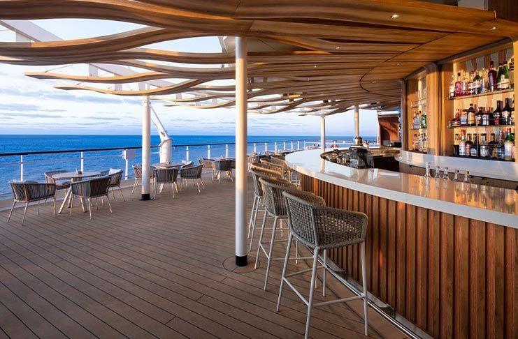Sunset Bar Temptation Caribbean Cruise